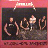 """Welcome Home (Sanitarium)"" cover"